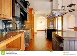 Luxury Home Interiors New Construction Luxury Home Interior Kitchen With Beautiful