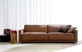 home decor brown leather sofa style of decorate with contemporary leather sofa awesome homes