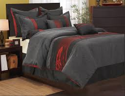 owl comforter set king home design ideas within black and red