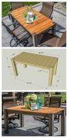 diy cedar patio table free plans at buildsomething com kreg