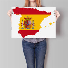 click to buy u003c u003c free ship spain country flag world map paper