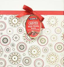 amazon com loc maria milk crepes belgian chocolate biscuits in a