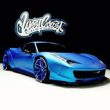 Ferrari 458 Blue - justin bieber u0027s ferrari 458 turns frozen blue autoevolution