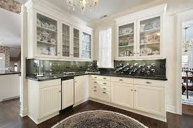 a peek in your old cabinets is the design spark for your kitchen