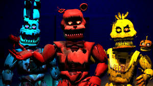 painting fnaf five nights at freddy s 4 fnaf sfm painted faces trickywi