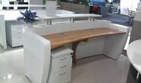 Commercial Reception Desk Wood Reception Desk Commercial Modern Office Floor Wood Reception