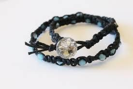 macrame bead bracelet images Simple macrame bracelet diy leslie co jpg