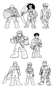 marvel coloring pages printable super hero squad coloring pages lineart super hero squad