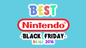 best nintendo black friday deals 2016