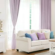 Thick Purple Curtains Blackout Window Curtains For Living Room Thick Purple Fabric