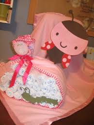 charlottes creations ladybug baby shower theme created this diaper