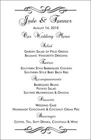 wedding drink menu template template drink menu template microsoft word