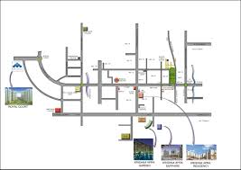 Greater Noida Metro Map by Strategic Royal Court 8287005005 Noida Extension