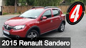 sandero renault stepway renault sandero stepway new car review youtube