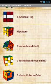 android pattern tricks cool rubik s cube tricks 1 0 1 apk download android books