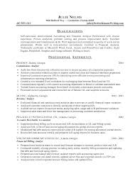 financial resume objective click here to download this financial