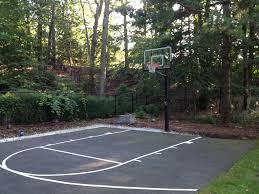 amazing backyard basketball court ideas u2014 home design lover