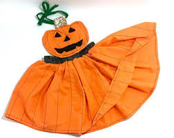 Girls Pumpkin Halloween Costume Baby Pumpkin Costume Etsy