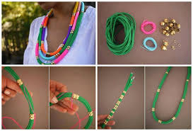 diy necklace rope images Diy utility rope necklace fabdiy jpg