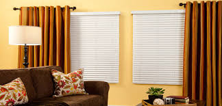 Budget Blinds Victoria Bc First Edition Faux Wood Blinds Ruffell U0026 Brown Window Fashions