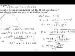Quadratic Word Problems Worksheet With Answers Word Problem On Quadratic Functions 1