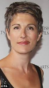 images of sallt and pepper hair growing grey gracefully tamsin greig shows off stylish salt and