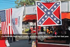Us Confederate Flag Wayne County Fair Westminster Presbyterian Wooster