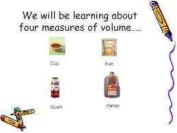 Gallon Worksheet Measuring Volume With Gallon Process