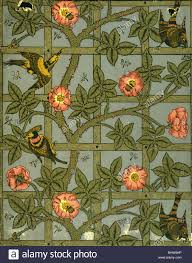 trellis wallpaper by william morris london england late 19th