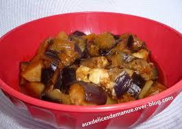 comment cuisiner aubergine aubergines aux pommes de terre auxdelicesdemanue