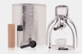espresso maker rokmaker hand powered espresso machine classic aluminum