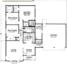 Free Online Floor Plan Builder by Hyde Park 1203 2846 3 Bedrooms And 2 5 Baths The House Designers