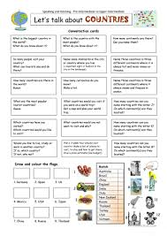 Halloween Comprehension Worksheets 111 Free Esl Country Worksheets