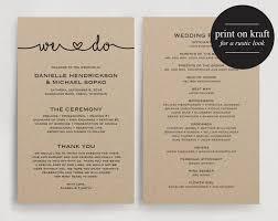 ideas for wedding programs wedding program ideas easy wedding 2017 wedding brainjobs us