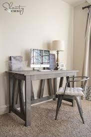 Diy Trestle Desk Diy Trestle Desk Free Plans Desk Plans Desks And Trestle Desk