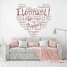 online get cheap french family aliexpress com alibaba group french inspired quotes wall sticker family french quotes wall decals removable french quotes sticker diy home