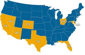 Ohio Area Code Map Campuses Imagine Schools