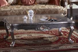Metallic Coffee Table by Jewel Coffee Table In Metallic Shine Silver Tone W Options