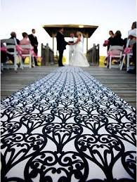 aisle runners for weddings make a colorful grand entrance with a self sewn fabric aisle