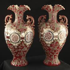 pair of ornamental vases pinter auctions