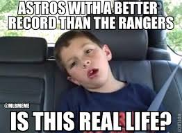 What Is Going On Meme - mlb memes on twitter what is going on rangers astros http