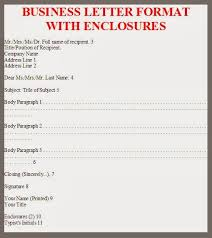 business letter format with enclosures 28 images letter format