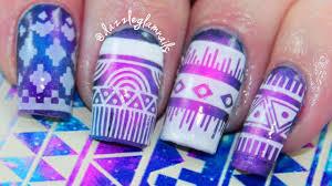 diy easy galaxy nail art tutorial sponge nails youtube bejeweled