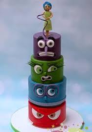 inside out cakes inside out birthday cake cake by ks cake design cakesdecor