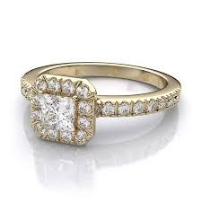 princess cut gold engagement rings wedding rings vintage engagement rings princess cut