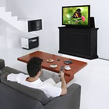 Touchstone Tv Lift Cabinet Touchstone Elevate End Of Bed Or Anyroom Theater Lift Cabinet For