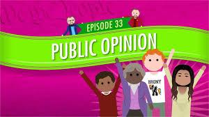 public opinion crash course government and politics 33 find