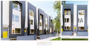 Row Houses Elevation - flexhouse2 logan square modern row homes u2014 nicholas james