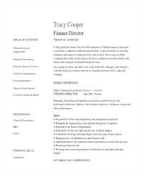 director of finance resume financial manager resume finance manager resume cv example sample