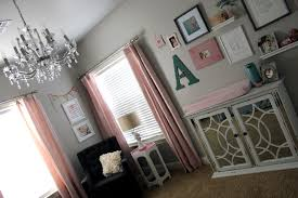 Nursery Girl Curtains by Girl Nursery Pink U0026 Gray Refunk My Junk